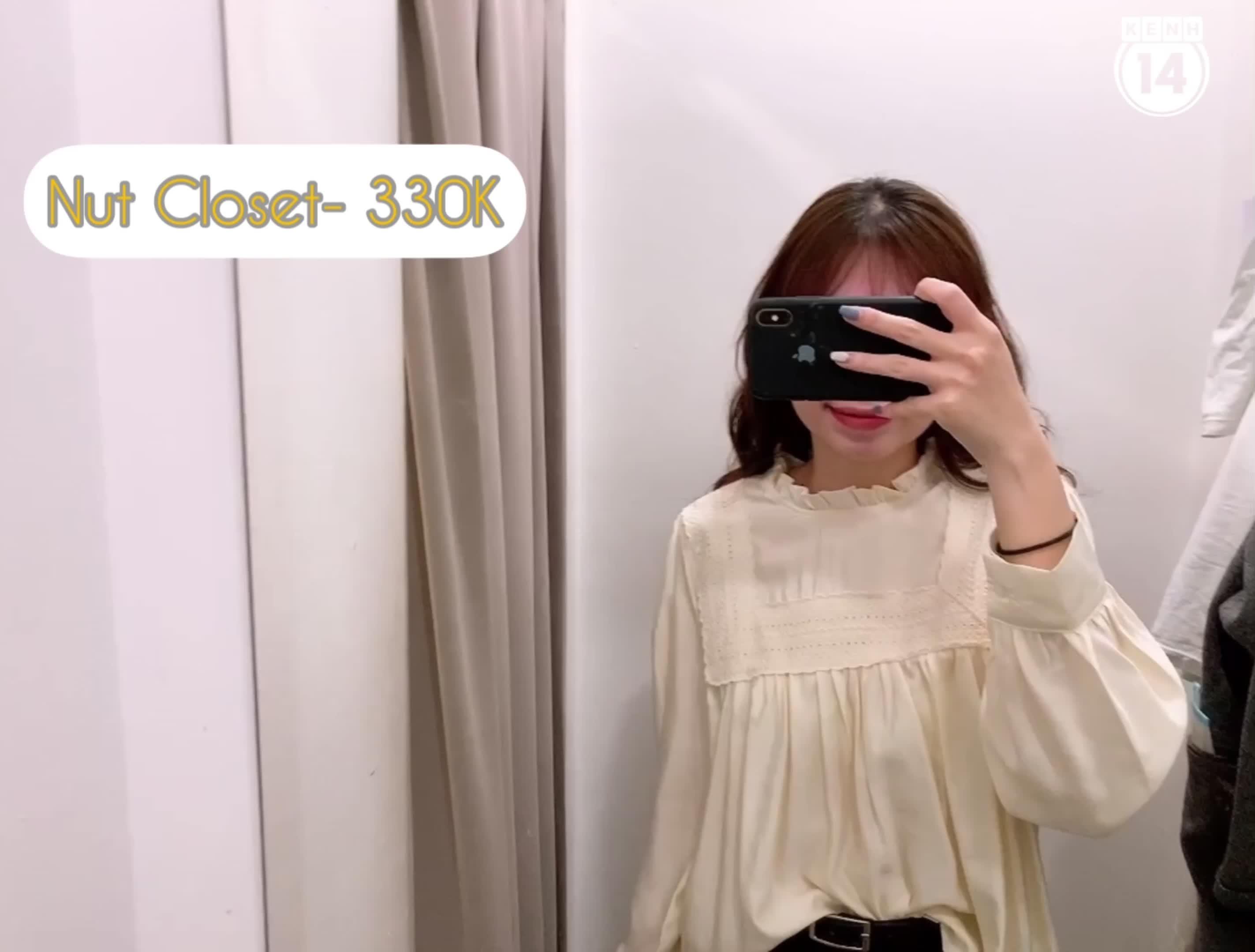 Hà Nội: Ghé các shop tìm áo blouse bánh bèo mặc lên auto xinh giá chỉ từ 230K