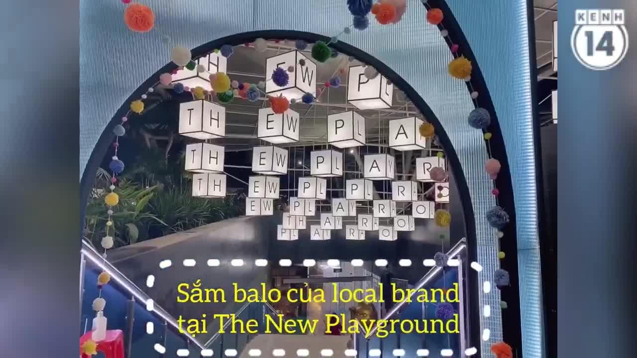 Dạo khu The New Playground tìm mua balo chất lừ từ các local brand