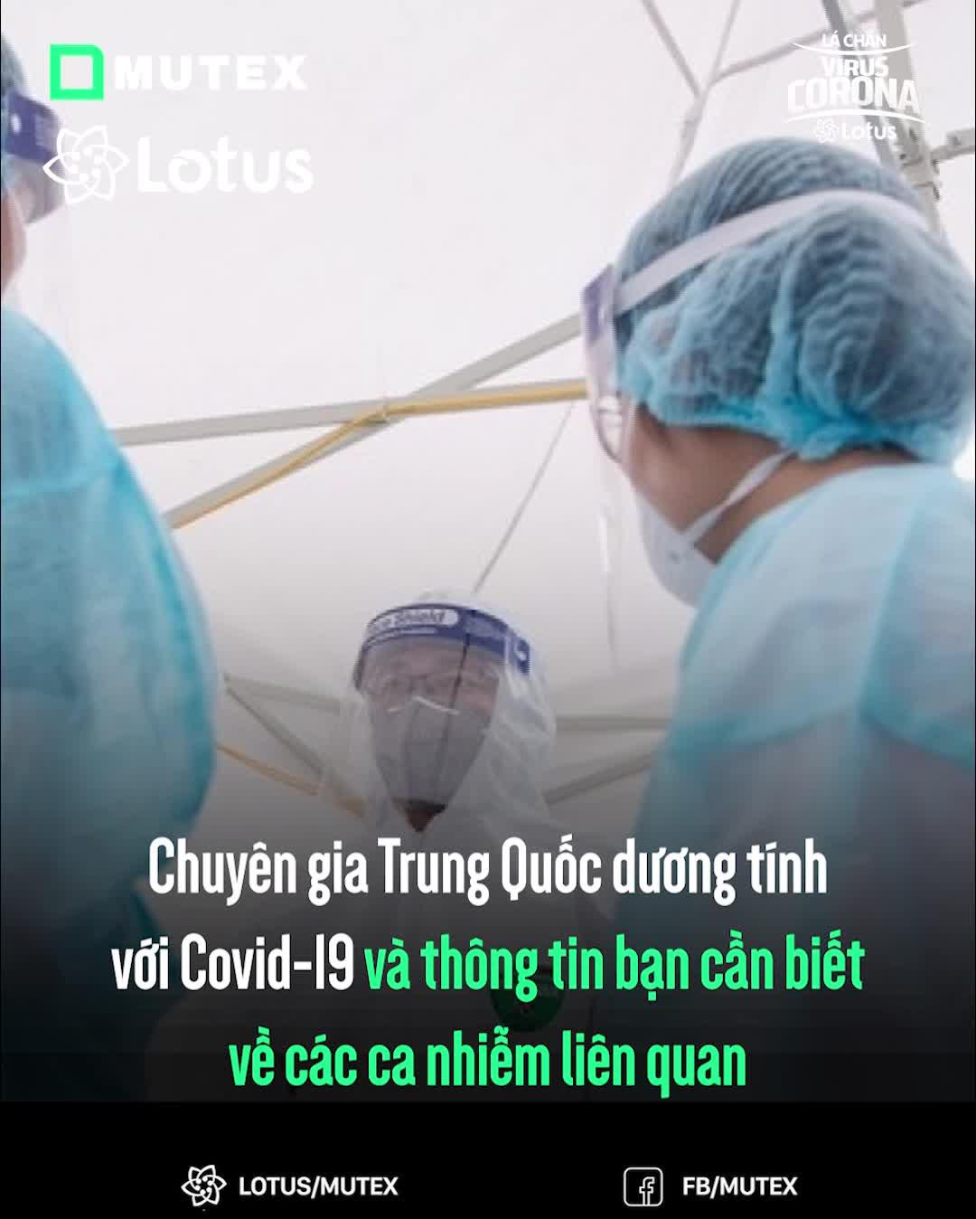 Chuyên gia Trung Quốc dương tính với Covid-19 và thông tin bạn cần biết về các ca nhiễm liên quan