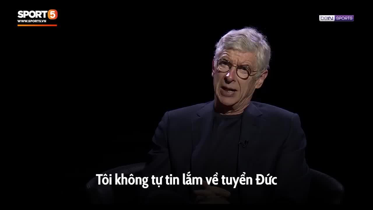 """HLV Wenger đánh giá thấp tuyển Đức, nhận định rằng """"Cỗ xe tăng"""" sẽ sớm dừng cuộc chơi tại Euro 2020"""