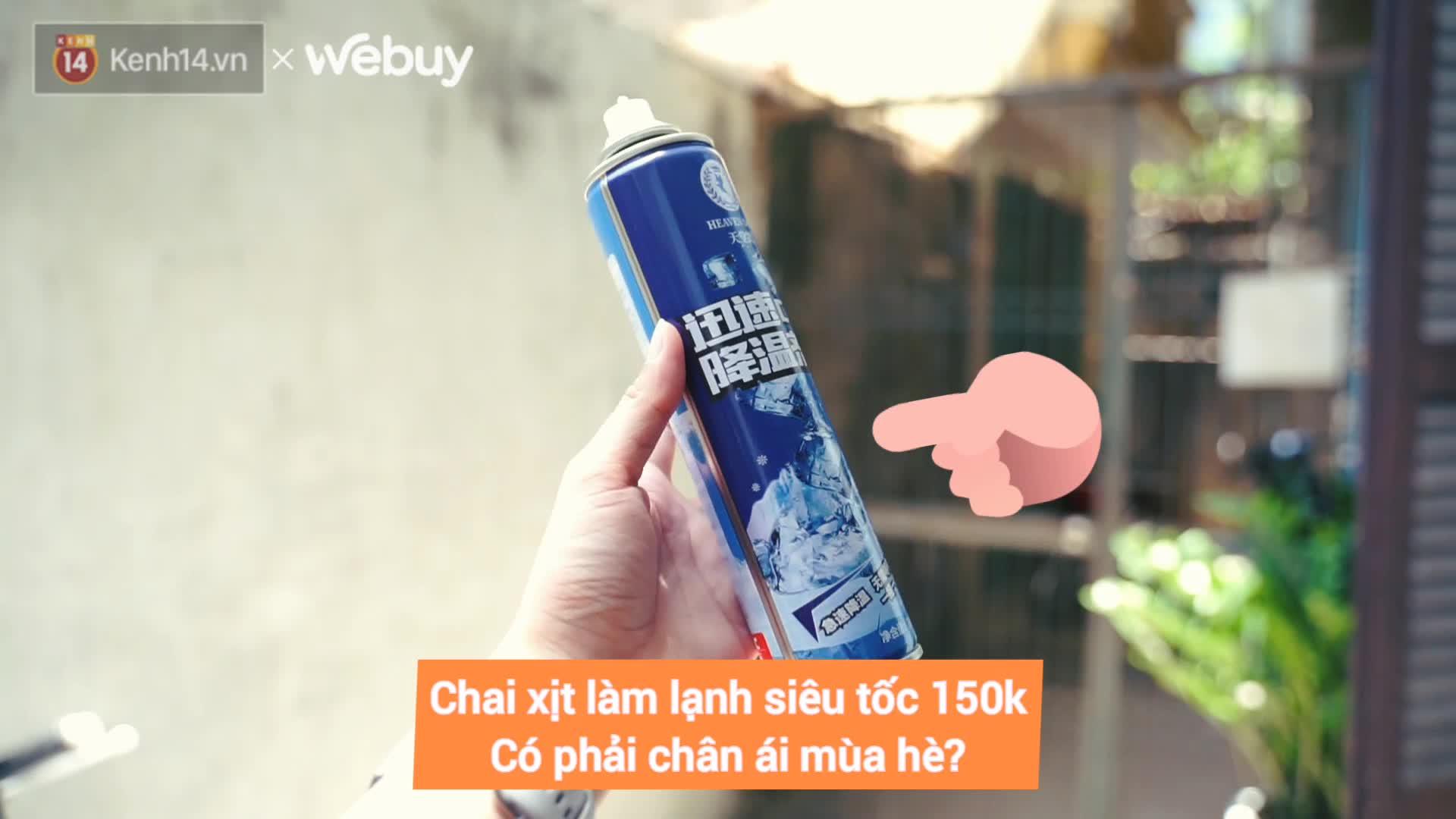 """Trời quá nóng, mình dùng thử xịt làm lạnh siêu tốc hàng nội địa Trung xem có """"xi nhê"""" như dân mạng bảo không?"""