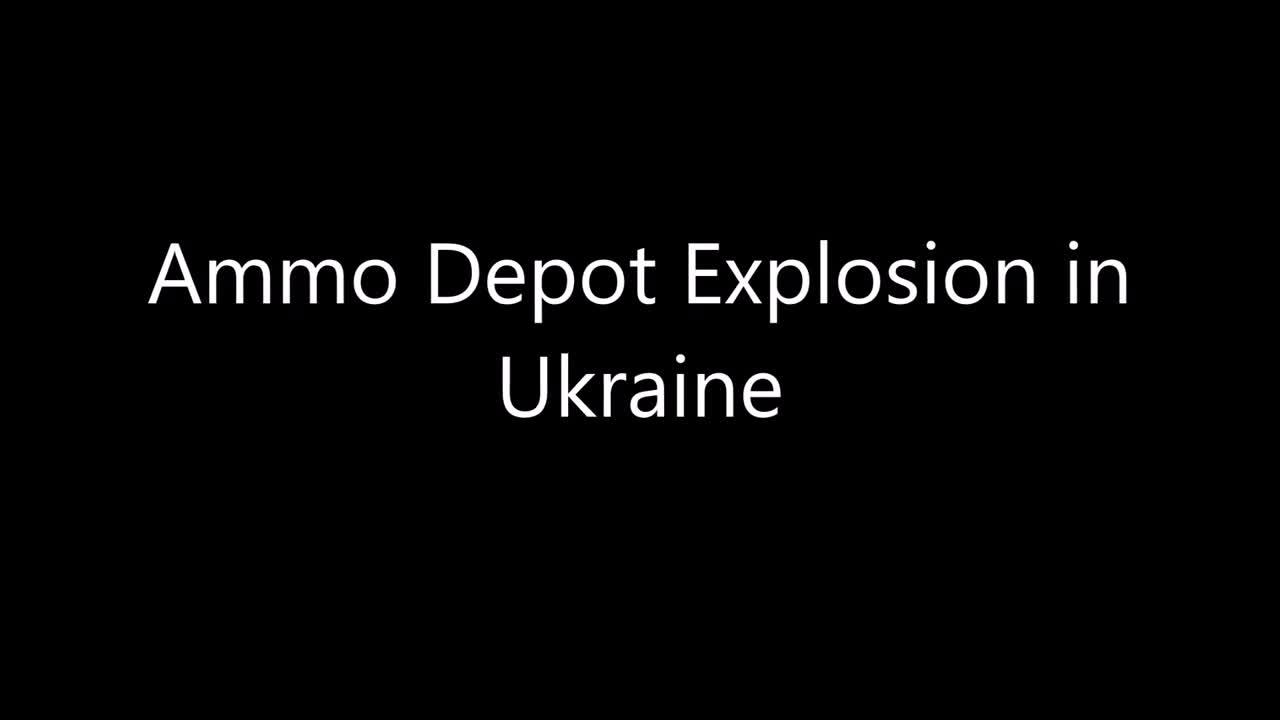 Nổ kho đạn ở Balakleya, Ukraine vào năm 2017.