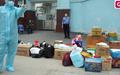Bệnh viện K bị phong tỏa, việc tiếp tế đồ ăn, đồ dùng được thực hiện thế nào?