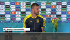 Yarmolenko unlike Cristiano Ronaldo, puts the Euro 2020 sponsors' bottles in front of him| Ukraine