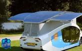 Ô tô chạy pin mặt trời đầu tiên thế giới