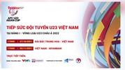 Tin vui cho người hâm mộ Việt Nam trước vòng loại U23 Châu Á