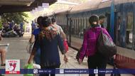 Tạm dừng tàu khách từ Hà Nội đến Đông Hà (Quảng Trị )