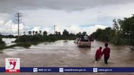 Mưa lũ gây nhiều thiệt hại tại Campuchia
