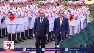 Thủ tướng Nguyễn Xuân phúc chủ trì Lễ đón Thủ tướng Nhật Bản Suga Yoshihide thăm chính thức Việt Nam