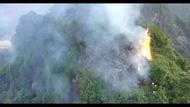 Khẩn trương dập tắt vụ cháy rừng