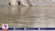 Công trình kè sông có nguy cơ bị lũ cuốn