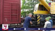 Khắc phục xong sự cố tàu hỏa trật bánh tại Hà Nam