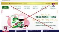 Cảnh báo về quảng cáo Viên tán sỏi Tống Thạch Hoàn