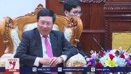 Phó Thủ tướng Phạm Bình Minh chào xã giao Lãnh đạo Lào