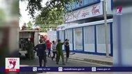 Cháy trung tâm anh ngữ quốc tế taị Bình Phước