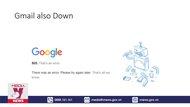 Nhiều dịch vụ của Google bất ngờ bị gián đoạn