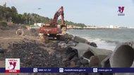 Bình Thuận hoàn thành tuyến kè biển xã Tiến Thành