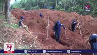 Bình Phước tìm thấy nghĩa trang bệnh viện thời chiến K54