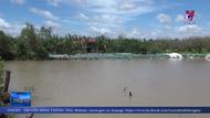 Bến Tre khắc phục sự cố sạt lở bờ sông Ba Lai