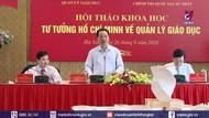 Vận dụng tư tưởng Hồ Chí Minh về quản lý giáo dục