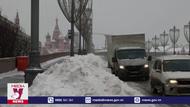 Tuyết phủ trắng thủ đô Moskva, Nga
