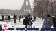 Paris đẹp lung linh trong tuyết trắng