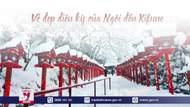 Vẻ đẹp diệu kỳ của ngôi đền Kifune trong biển tuyết trắng xóa
