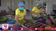 Bánh Tét Trà Cuôn – món ngon ngày Tết