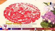 Nghệ thuật cắt giấy đỏ đầu năm của Trung Quốc