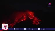 Núi lửa Etna ở Italy lại phun trào