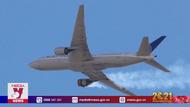 Máy bay Boeing hạ cánh khẩn cấp do lỗi động cơ
