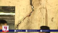 Sạt lở, sụt lún đất tại thị trấn Mường Tè, Lai Châu