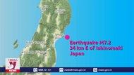 Nhật Bản: Động đất mạnh gây mất điện diện rộng