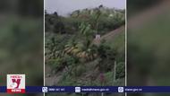 Ảnh hưởng từ hoạt động phun trào của núi lửa La Soufriere
