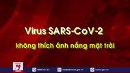 """Virus SARS-CoV-2 không """"thích"""" ánh nắng mặt trời"""