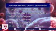 Hà Nội phát hiện thêm 8 ca COVID-19 cộng đồng