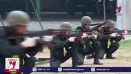 Cảnh sát cơ động sẵn sàng cho ngày bầu cử