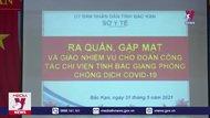 Bắc Kạn chi viện nhân lực y tế cho Bắc Giang