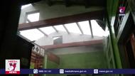 Mưa đá kèm lốc xoáy gây thiệt hại tại Quảng Trị