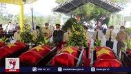 Nghệ An đón nhận và an táng 95 hài cốt liệt sĩ