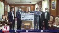 Doanh nghiệp Lào ủng hộ Quỹ phòng chống COVID của Việt Nam