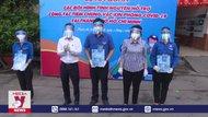 Thanh niên tình nguyện hỗ trợ chiến dịch tiêm vaccine