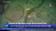 Na Uy tìm thấy xác tàu cổ hơn 250 năm dưới đáy biển