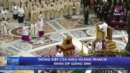 Thông điệp của Giáo hoàng Francis nhân dịp Giáng sinh