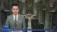 Giáo hoàng Francis chủ trì thánh lễ Giáng sinh