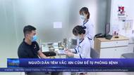 Người dân tiêm vaccine cúm để tự phòng bệnh