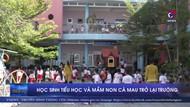 Học sinh tiểu học và mầm non Cà Mau trở lại trường