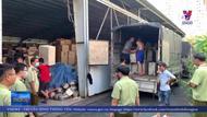 Phát hiện kho trung chuyển hàng lậu từ Campuchia