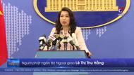 Bộ Ngoại giao phản ứng về việc Trung Quốc xây cáp ngầm ở Hoàng Sa