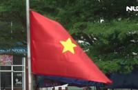 Trao 1.000 lá cờ Tổ quốc cho Bộ Tư lệnh Vùng Cảnh sát biển 4
